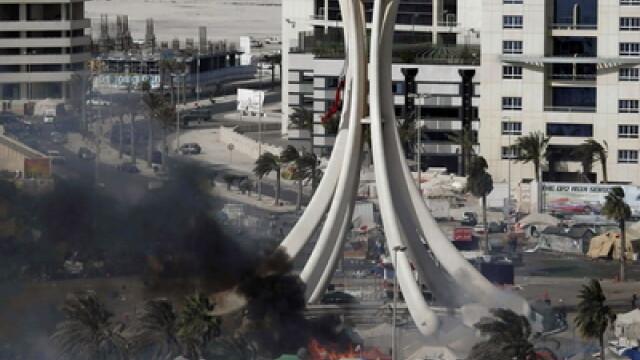 VIDEO socant din Bahrain.Un barbat e impuscat in fata cu gloante de cauciuc - Imaginea 4