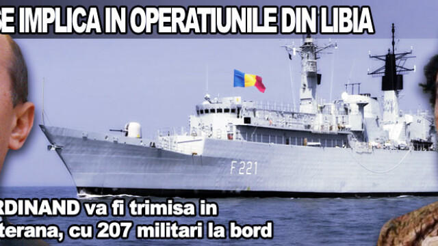 Romania in Libia