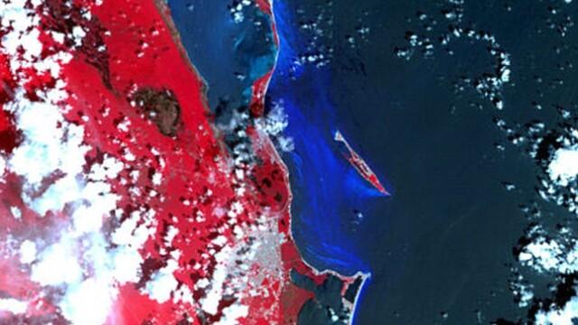 Pamantul, ca o mare de sange. Vezi cum arata radiatiile pe Terra. FOTO - Imaginea 2