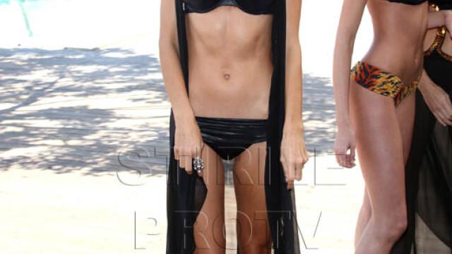 Cu picioarele subtiri ca pixul. Model Victoria's Secret socheaza publicul - Imaginea 3