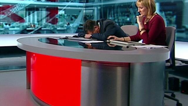 VIDEO. Dimineata e grea pana si la BBC. Un prezentator a atipit in timpul matinalului