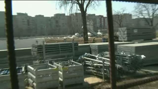 Patru muncitori raniti pe santierul Catedralei Neamului, care va costa 400 de milioane de euro