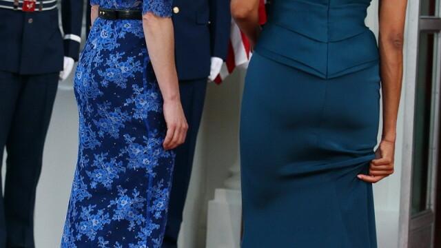 Un spate mai lucrat decat al sotului. A exagerat prima doamna a Statelor Unite cu trasul de fiare? - Imaginea 1