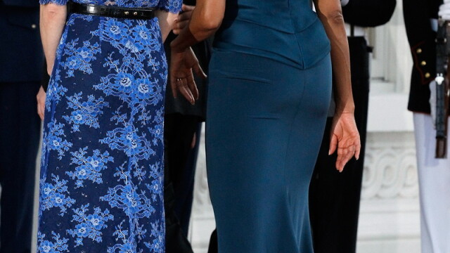 Un spate mai lucrat decat al sotului. A exagerat prima doamna a Statelor Unite cu trasul de fiare? - Imaginea 4