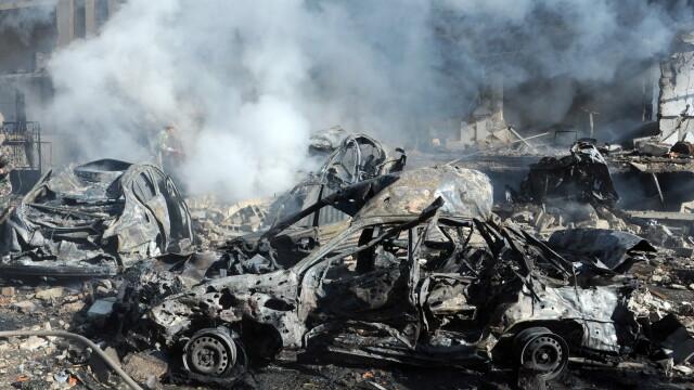 Convoiul ONU din Siria a scapat miraculos de un atentat