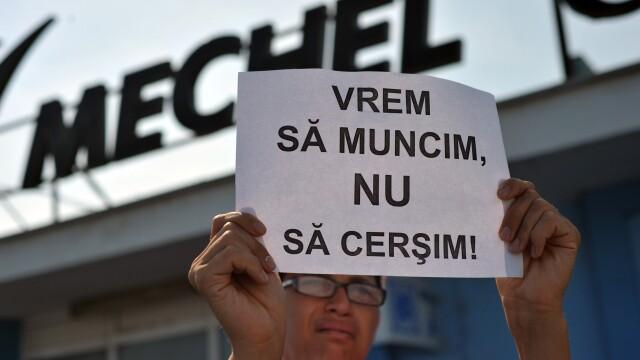 Protestatarii de la Mechel Campia Turzii au deblocat drumul european E60