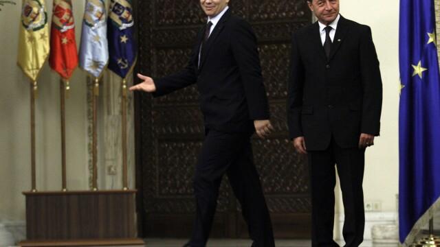 Traian Basescu, Victor Ponta