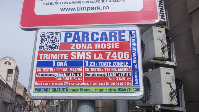 Atentie timisoreni! Cum verifica angajatii ADP daca ti-ai platit parcarea prin sistemul Timpark
