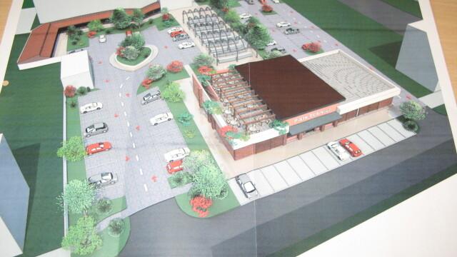 Piata noua si… terasa, in cartierul Soarelui. Cum va arata o constructie inceputa in urma cu 10 ani