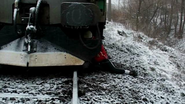 calcata de tren