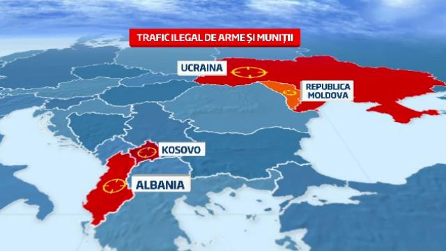 Romania, pe harta traficului de arme.Angajatul Uzinei Sadu prins cand vindea munitie furata, arestat