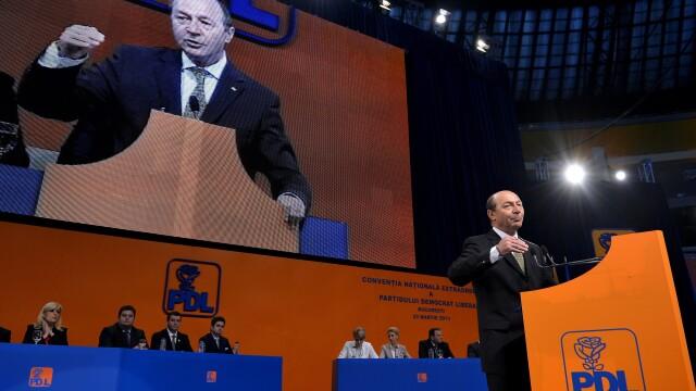 Traian Basescu: Am fost socat de refuzul de renumarare a voturilor la Conventia PDL