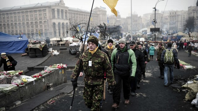 CRIZA din Crimeea: Putin nu a luat inca decizia unei interventii militare in Ucraina. Armata de la Kiev, in stare de alerta - Imaginea 5