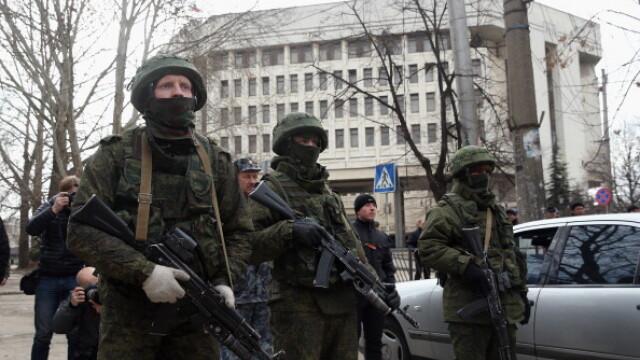 CRIZA din Crimeea: Putin nu a luat inca decizia unei interventii militare in Ucraina. Armata de la Kiev, in stare de alerta - Imaginea 8