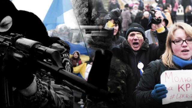 CRIZA din Crimeea: Putin nu a luat inca decizia unei interventii militare in Ucraina. Armata de la Kiev, in stare de alerta