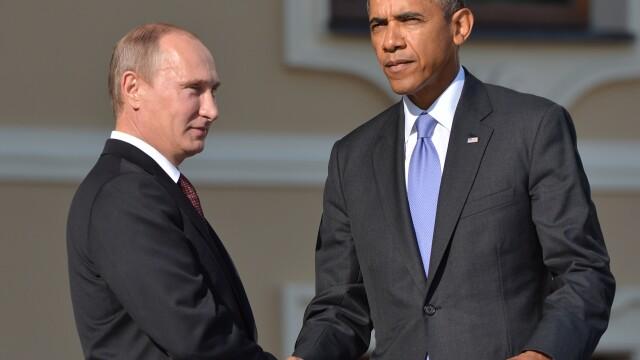Discutie de 90 de minute intre Putin si Obama despre criza din Crimeea. Ce a declarat presedintele rus