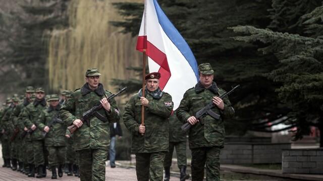 Criza din Ucraina. Ciocniri la Sevastopol intre sustinatorii Moscovei si cei ai Kievului