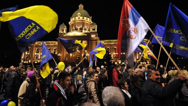 Victorie zdrobitoare a proeuropenilor la parlamentarele din Serbia. Un astfel de rezultat nu s-a mai inregistrat din 1990
