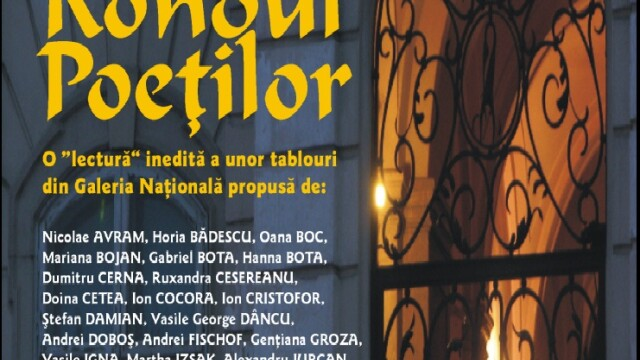 Rondul poetilor la Galeria Nationala a Muzeului de Arta din Cluj-Napoca