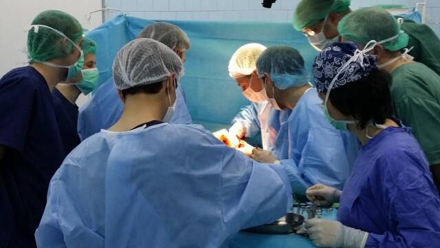 10 vieti salvate de o noua prelevare de organe realizata la Spitalul Clinic Judetean de Urgenta Sibiu