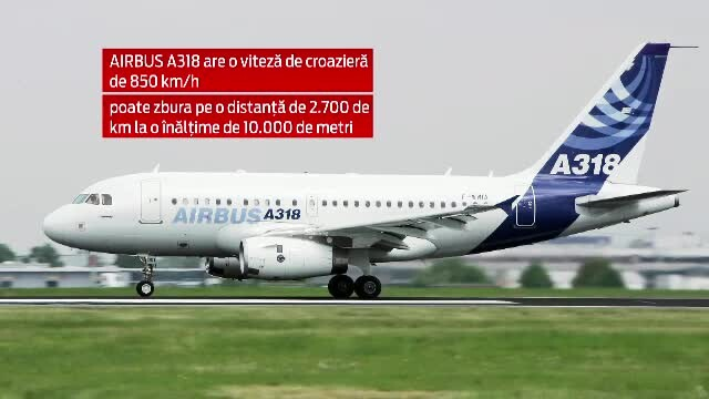 Un Airbus A318 de la Tarom, noul avion prezidential. Cum va arata in interior aeronava de 10 milioane de euro