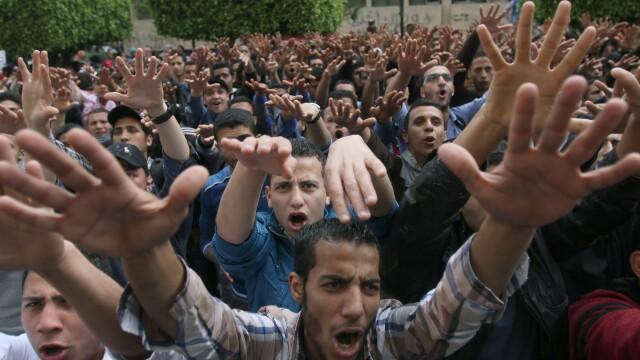 Suporteri ai regimului Mohamed Morsi