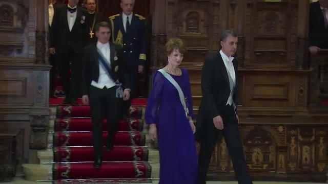 Aniversare regala la Palatul Peles. 26 de personalitati au fost decorate cu ocazia sarbatoririi zilei Principesei Margareta