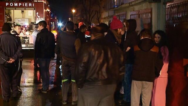 Clipe de groaza pentru locatarii unui bloc din Cluj. S-au trezit invaluiti de un fum des - Imaginea 1