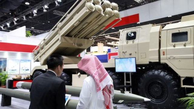 China a depasit Germania si a devenit al treilea exportator mondial de armament dupa SUA si Rusia