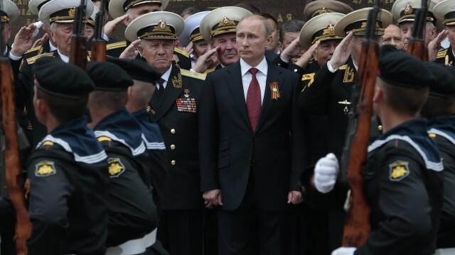 Discursul lui Vladimir Putin, la un an dupa anexarea Crimeei: \