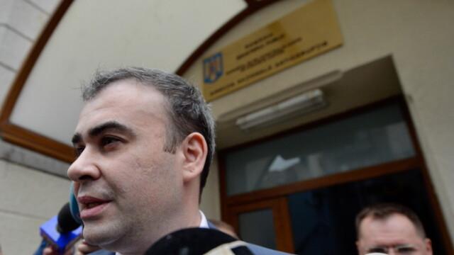 Darius Valcov ramane in arest preventiv. DNA a obtinut respingerea arestului la domiciliu