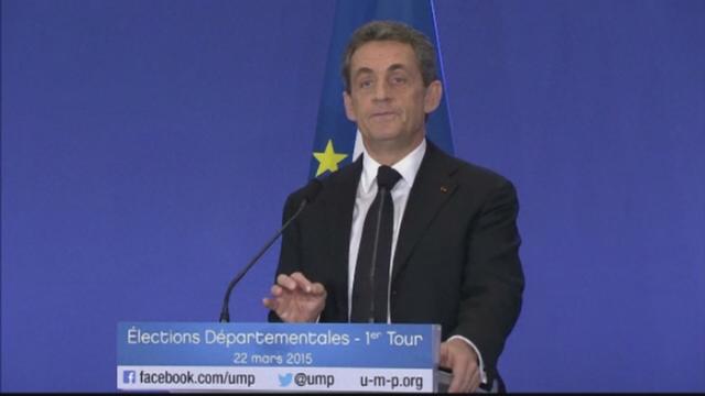 Revenirea lui Nicolas Sarkozy in prim-plan, tot mai posibila. Opozitia de dreapta a castigat primul tur al alegerilor locale