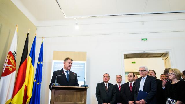 Presedintele Klaus Iohannis: \
