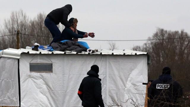 violente Calais - Getty
