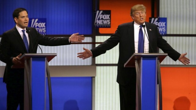 Dezbaterea dintre republicani, la un nivel tot mai jos. Ultimul subiect de scandal: Sunt sau nu mainile lui Trump mici? - Imaginea 1