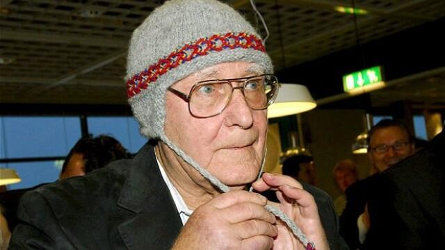 Proprietarul Ikea, miliardarul Ingvar Kamprad, a dezvaluit ca isi cumpara haine second hand pentru a face economii
