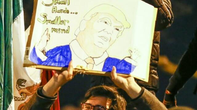 Noi proteste la adresa lui Donald Trump in SUA. Miliardarul si-a anulat un miting
