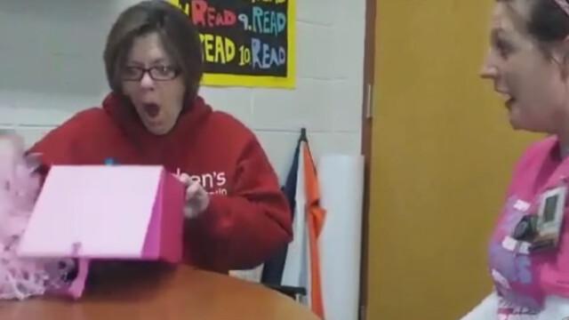 bunica surprinsa