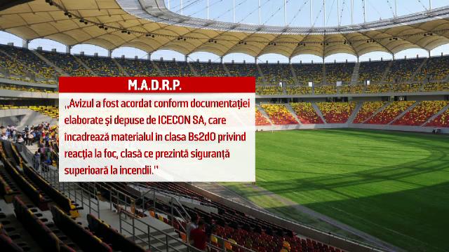 Copertina Arenei Nationale a primit avizul tehnic. Primarul interimar al Capitalei a anuntat cand va fi deschis stadionul