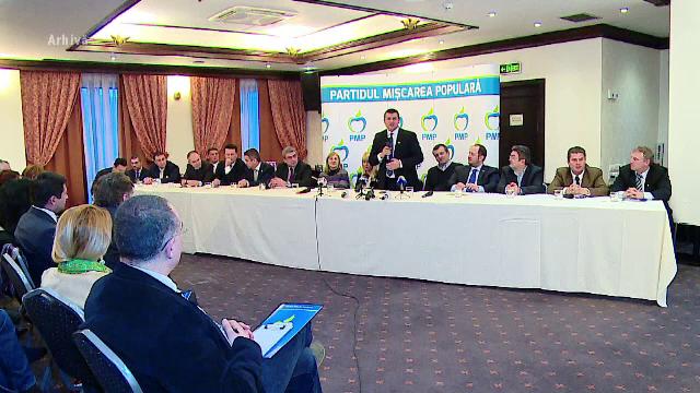 Partidul lui Traian Basescu a ratat inscrierea oficiala. Ce au observat procurorii la sigla PMP