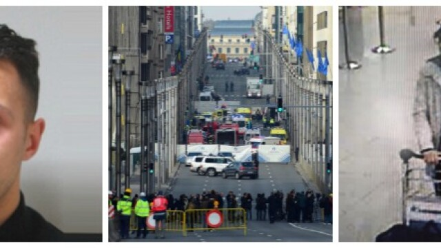 Explozii in Bruxelles. Raiduri pentru capturarea celui de-al 3-lea suspect. Legatura cu teroristul