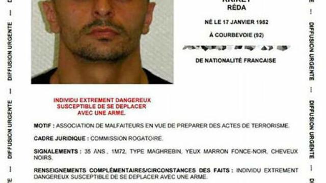 Atentat terorist dejucat in Franta. Legaturile pe care le avea Reda Kriket, \