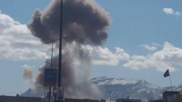 Explozii si lupte intre talibani si fortele de ordine, pe strazile capitalei Afganistanului. \