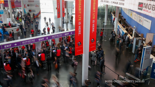 Mobile World Congress (MWC) in Barcelona, Spain, on Wednesday, March 1, 2017