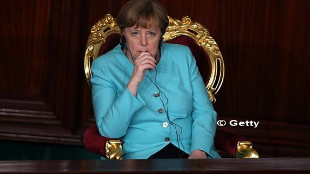 Victorie importanta obtinuta de partidul Angelei Merkel. In toamna, va candida din nou pentru postul de cancelar