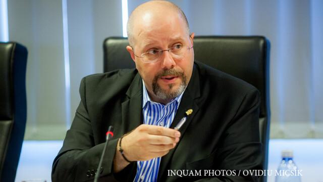 Aurelian Badulescu (PSD+UNPR), participa la sedinta CGMB, dupa ce a fost ales in functia de viceprimar al Capitalei,
