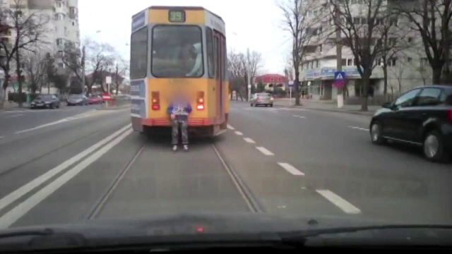 copil tramvai