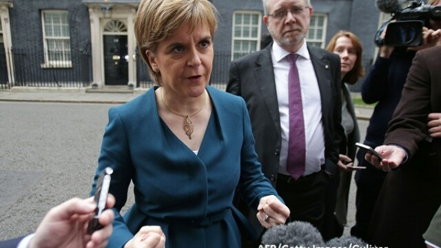 Parlamentul scotian a dat unda verde pentru organizarea unui al doilea referendum pentru independenta Scotiei
