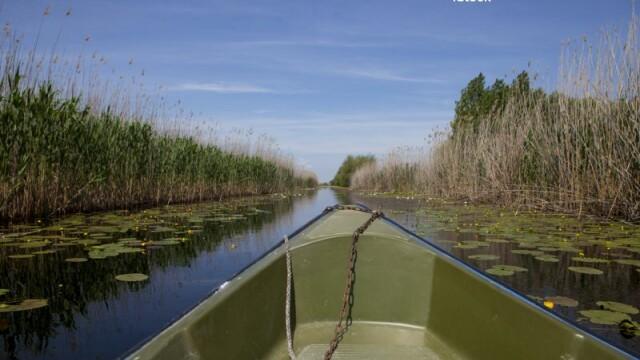 Satul Crisan din Delta Dunarii, locul unde puteti manca celebrul bors de peste lipovenesc sau sa va plimbati cu canotca
