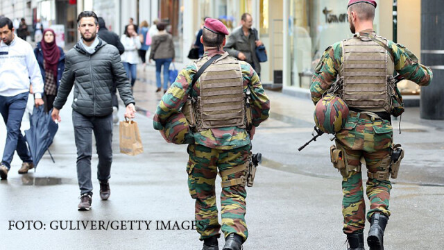 Politia belgiana a dejucat un atentat identic cu cel din Londra. Soferul care voia sa intre in multime, prins de politie